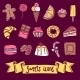 Sweet Icon Set - GraphicRiver Item for Sale