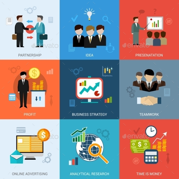 GraphicRiver Business Concepts Set 10314307