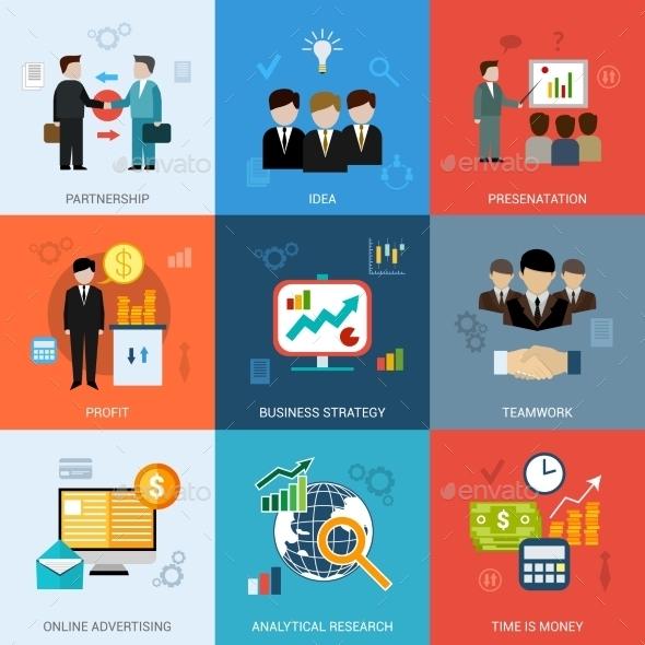 GraphicRiver Business Concepts Set 10314307