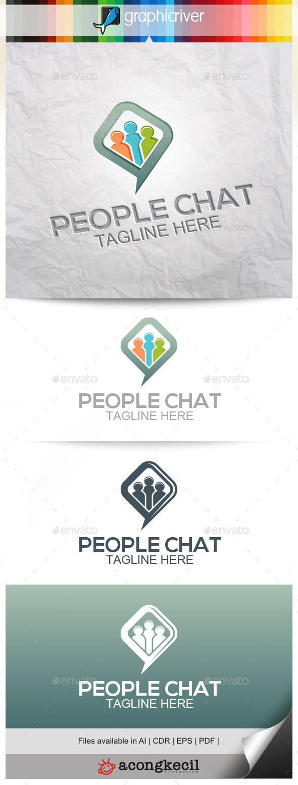 GraphicRiver People Chat 10314560