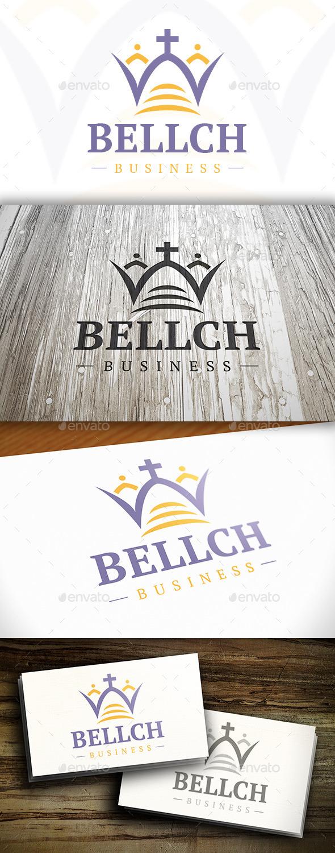 GraphicRiver Church Bell Logo 10314568