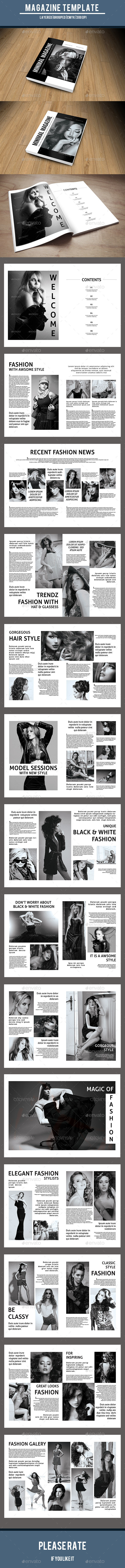 GraphicRiver Minimal Fashion Magazine-V03 10314752