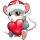 Mouse and Heart - GraphicRiver Item for Sale