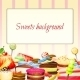 Sweets Food Background - GraphicRiver Item for Sale