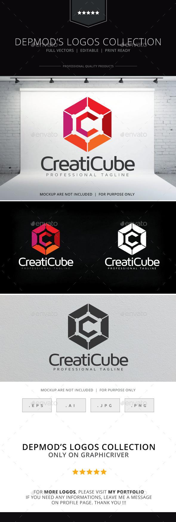 GraphicRiver Creaticube Logo 10315412