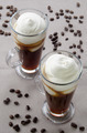 irish coffee in a glass - PhotoDune Item for Sale