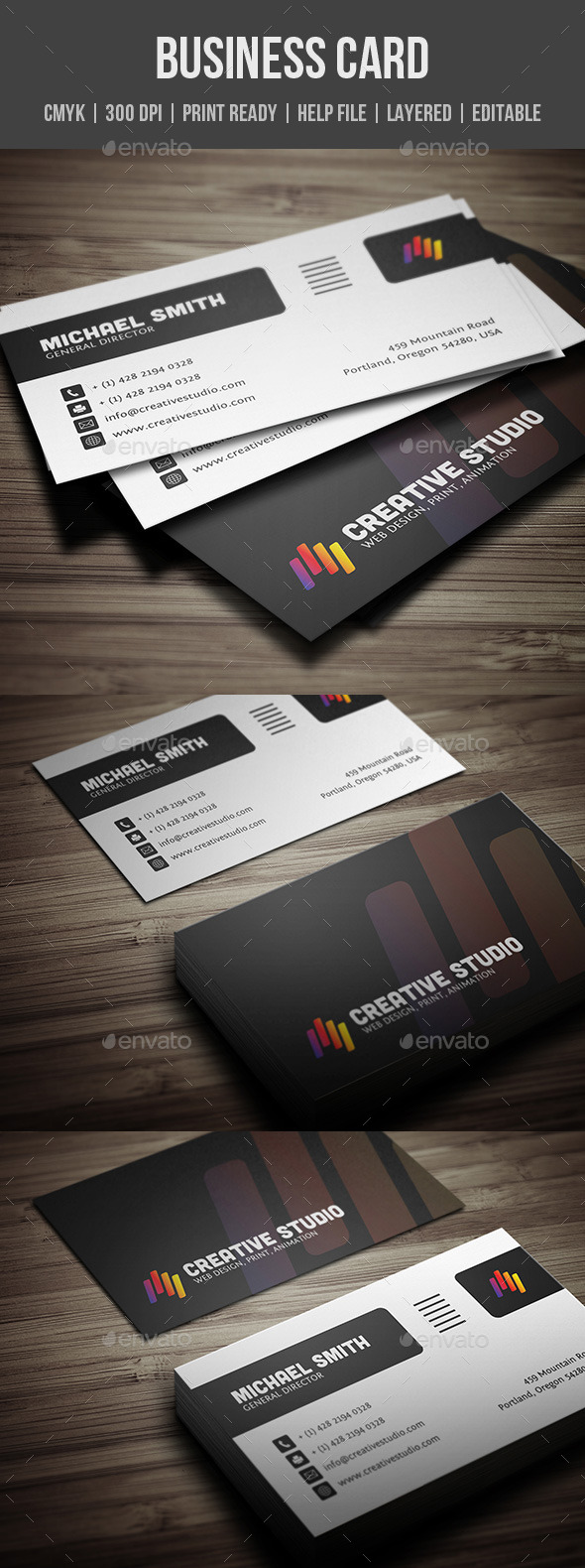 GraphicRiver Creative Business Card 10315953
