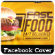 Fast Food - Facebook Cover - GraphicRiver Item for Sale