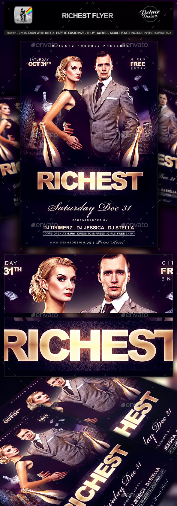 GraphicRiver Richest Flyer 10316230