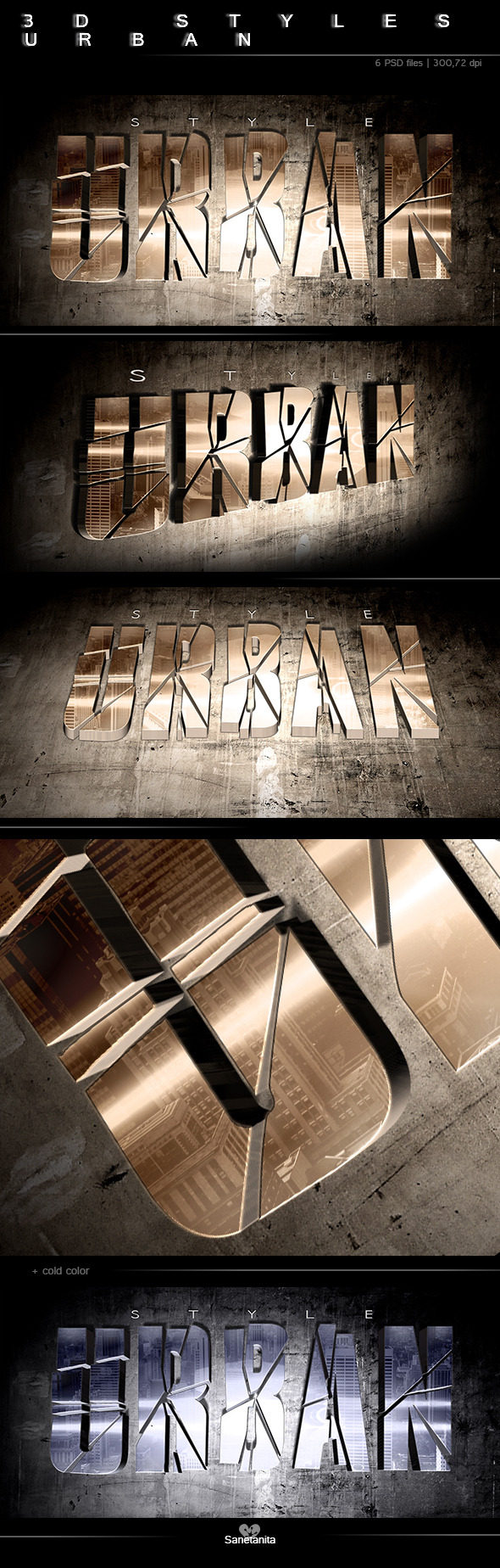 GraphicRiver 3D Urban Style 10316241