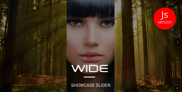 WIDE – jQuery Showcase Slider