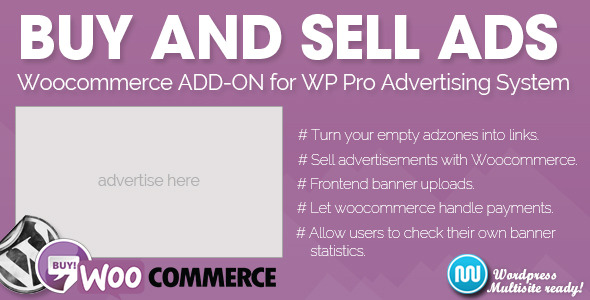 Sell advertisements on your website using WooCommerce