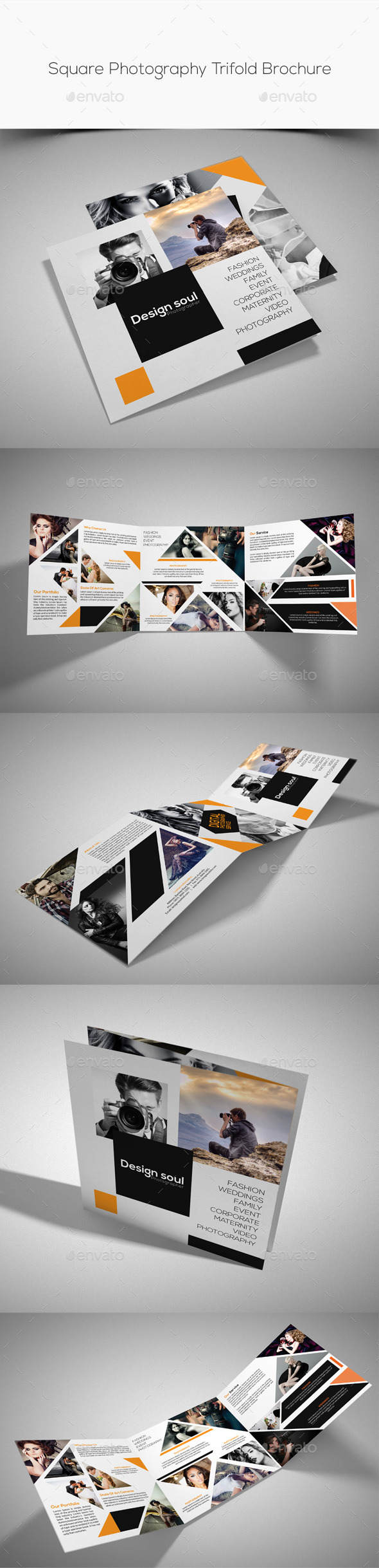 GraphicRiver Square Photography Trifold Brochure 10316769