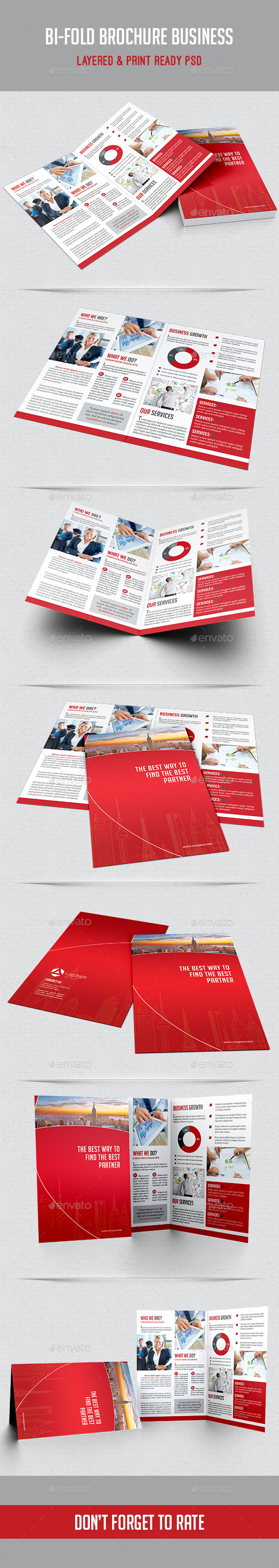 GraphicRiver Bi-fold Brochure Business 10317044