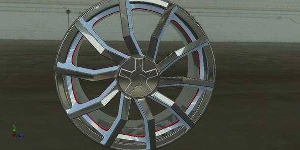 3DOcean Auto rim 10317136