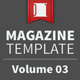 Magazine Template - Volume 03 - GraphicRiver Item for Sale