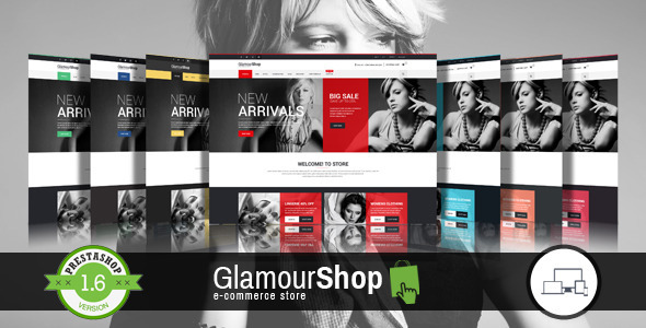 GlamourShop Responsive Prestashop 1.6 Theme + Blog - Fashion PrestaShop