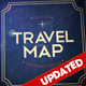 Travel Map - VideoHive Item for Sale