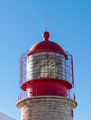 Red Lighthouse on the Background of Blue Sky - PhotoDune Item for Sale