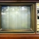 Retro Style Television Set with Bad Picture - PhotoDune Item for Sale