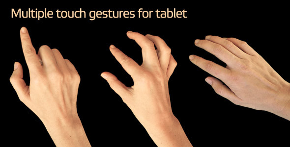 Touch Gestures For Tablet