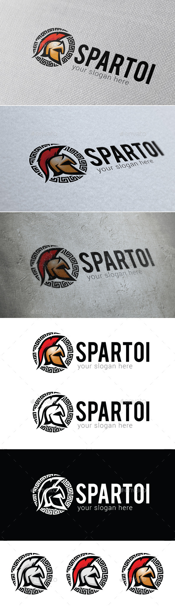 GraphicRiver Spartoi Logo Template 10320151