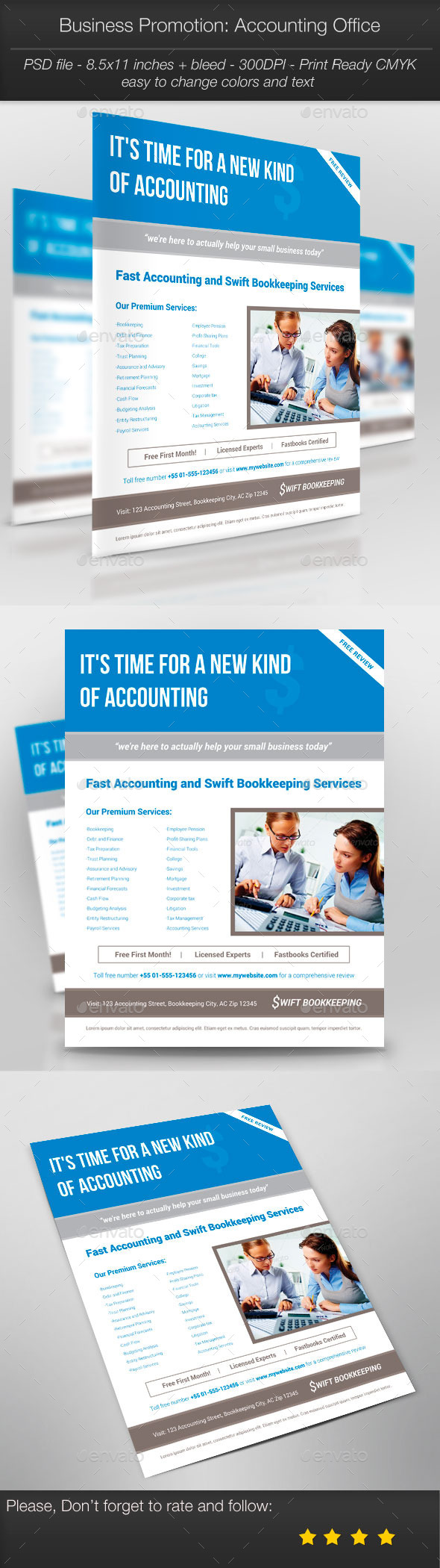 GraphicRiver Business Promotion Accounting Office 10320197