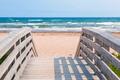 Entrance to Atlantic ocean beach - PhotoDune Item for Sale
