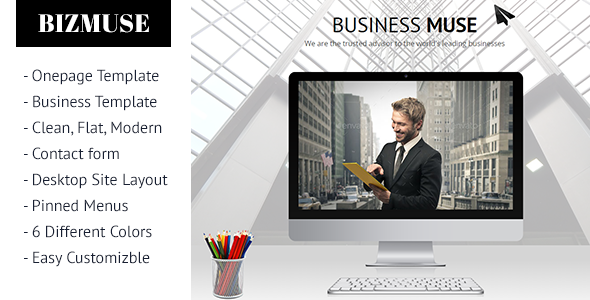 ThemeForest Biz Muse Template 10248543
