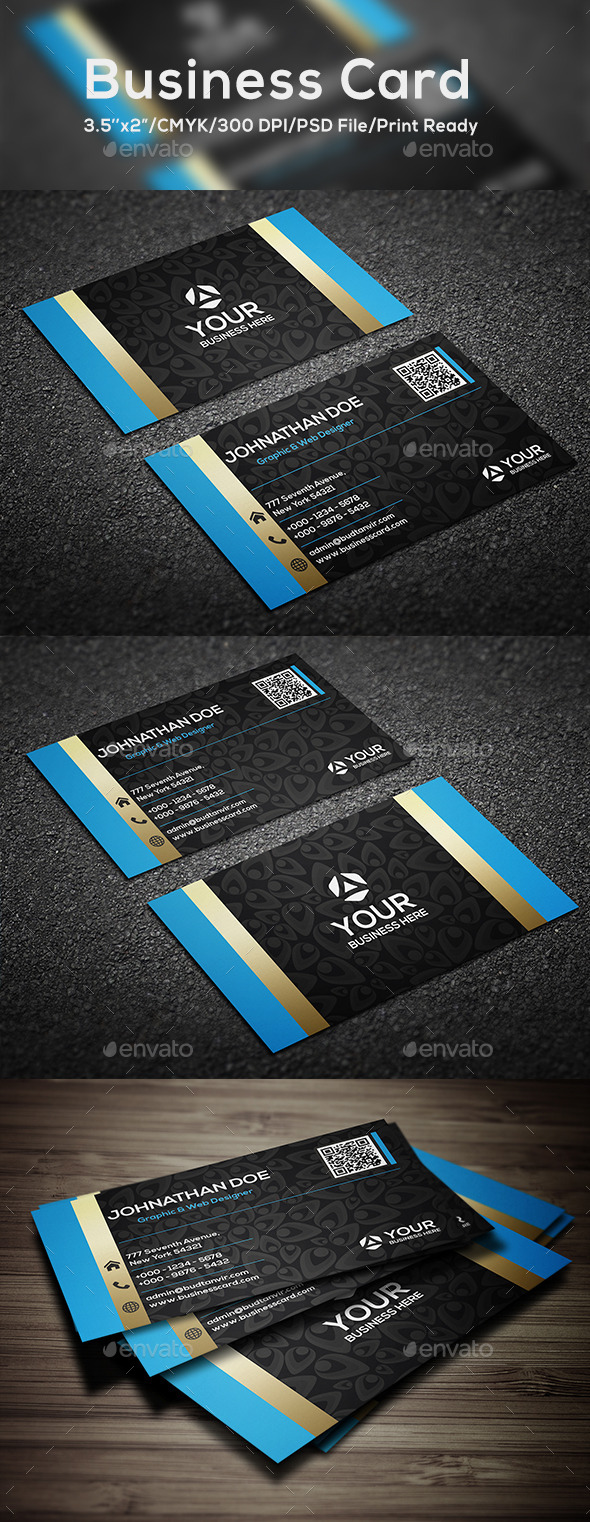 GraphicRiver Creative Designer Business Card 10320309