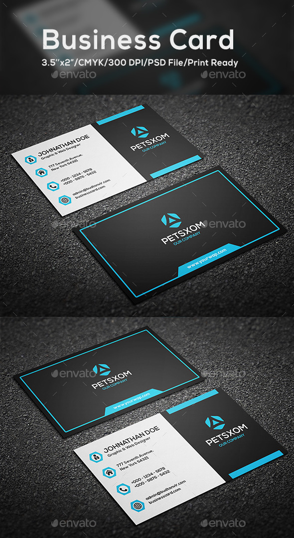 GraphicRiver Modern Business Card Vol 6 10320312