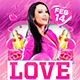 Love Party Flyer Template - GraphicRiver Item for Sale