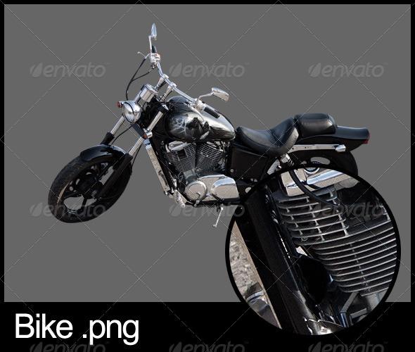 Isolated bike