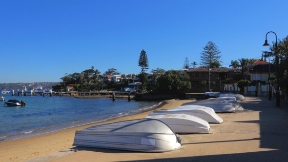 Boats on the Beach Watsons Bay Sydney
