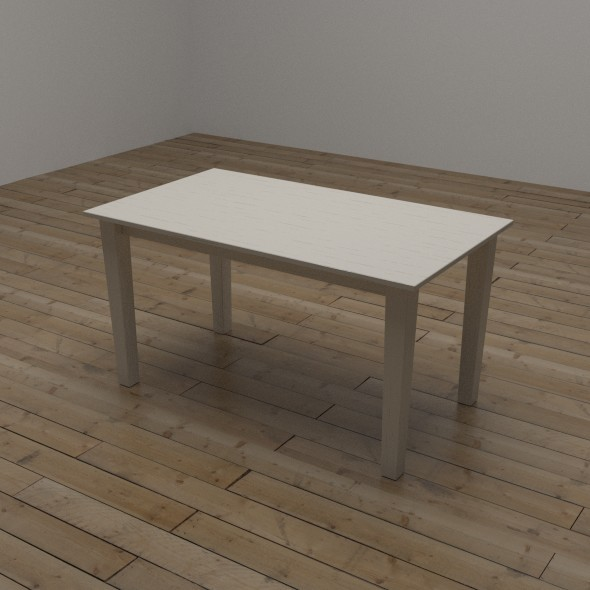 3DOcean Rectangular Table 10321841