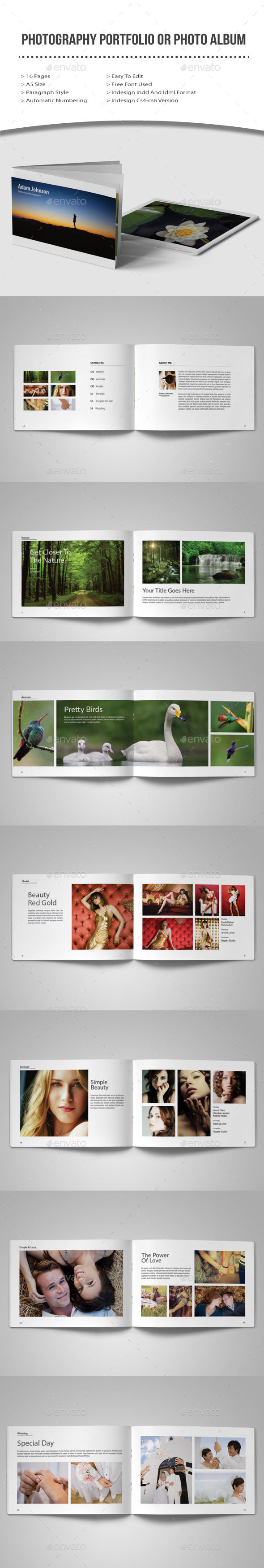 GraphicRiver Photography Portfolio or Photo Album 10322188