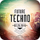 Future Techno Flyer - GraphicRiver Item for Sale