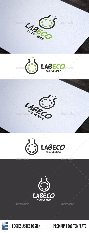 GraphicRiver LabEco Logo 10323087