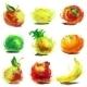 Set of Fruit