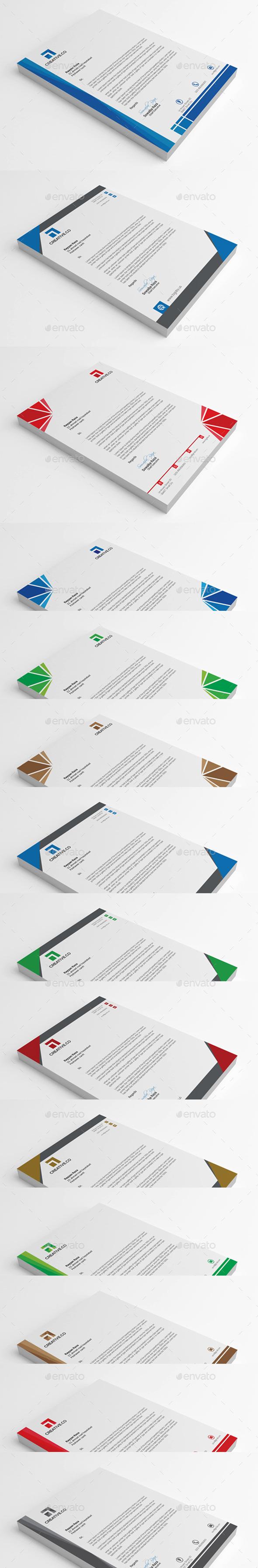 GraphicRiver Letterhead Bundle 10323486