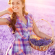 Young woman on lavender field - PhotoDune Item for Sale