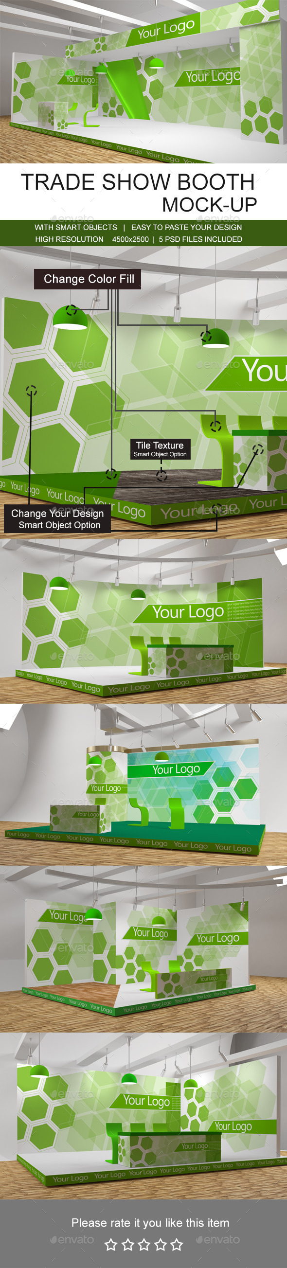 GraphicRiver Trade Show Booth Mockups 10323723