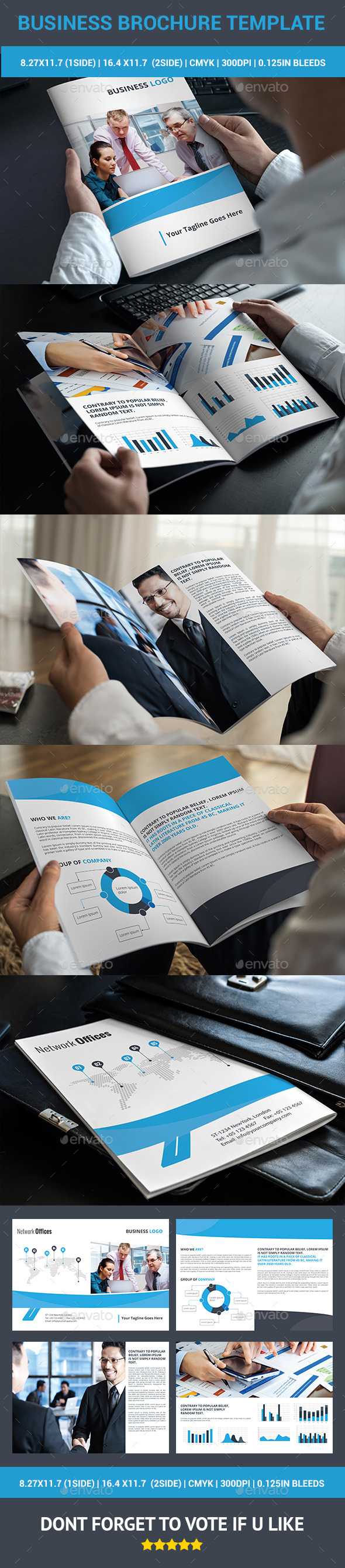 GraphicRiver Business Brochure 10323819