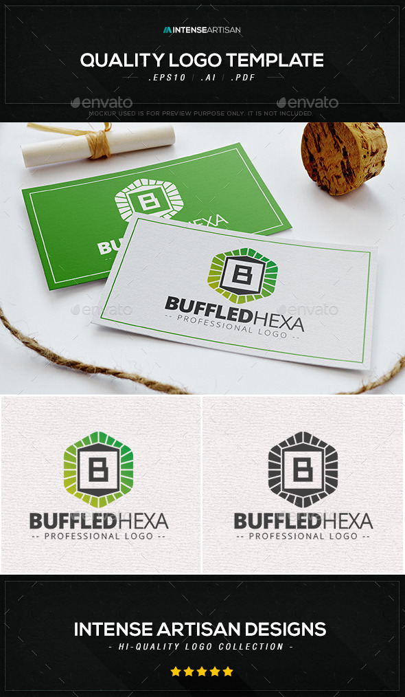 GraphicRiver Buffled Hexa Logo Template 10323834