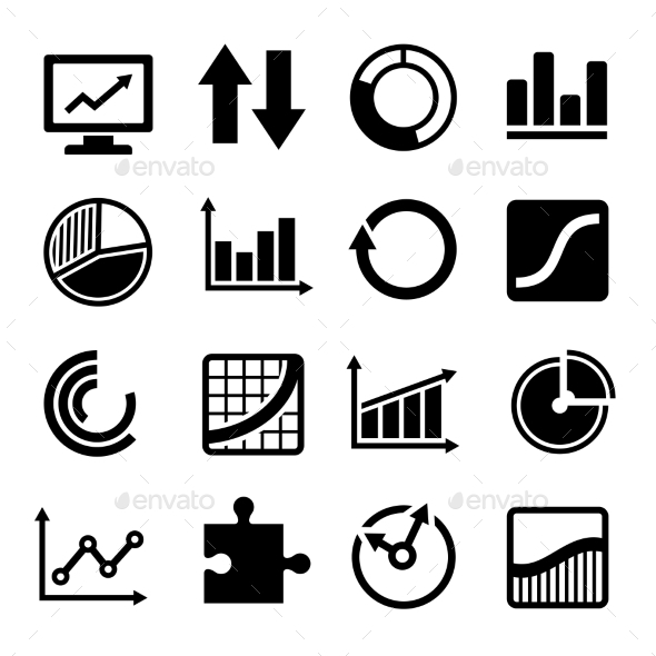 GraphicRiver Business Diagram and Infographic Icons Set 10324018