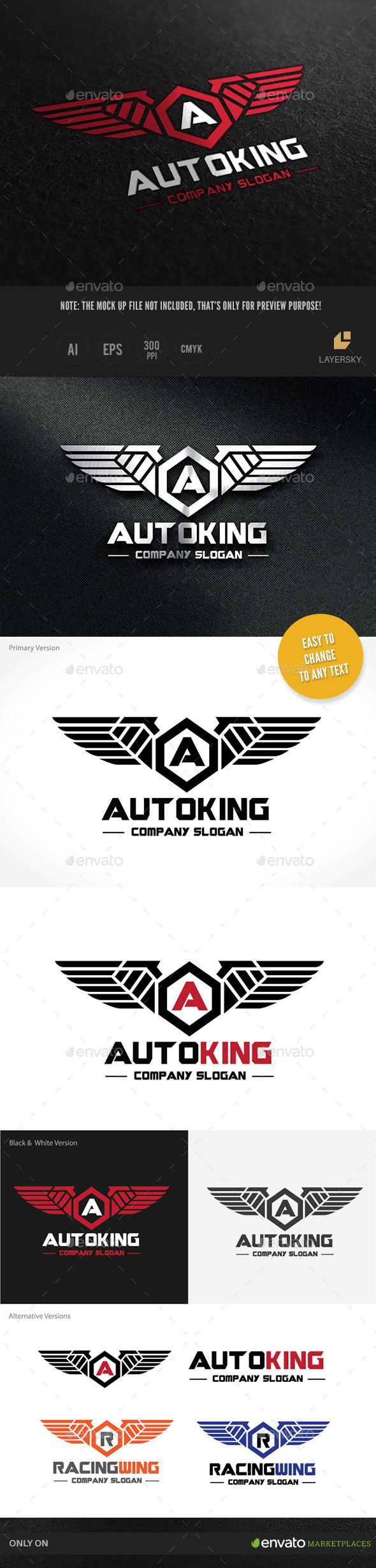 GraphicRiver Auto Kinng 10324165