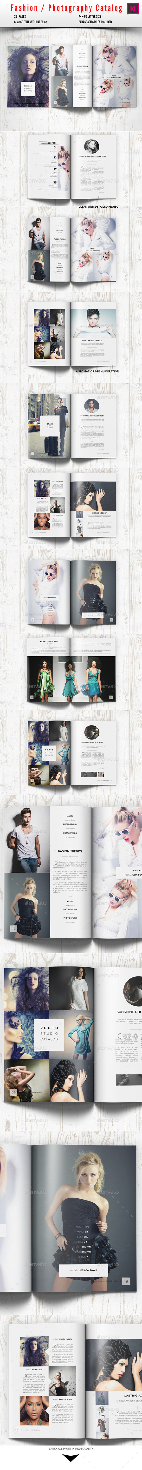 GraphicRiver Fashion Photography Catalog Brochure 10277338