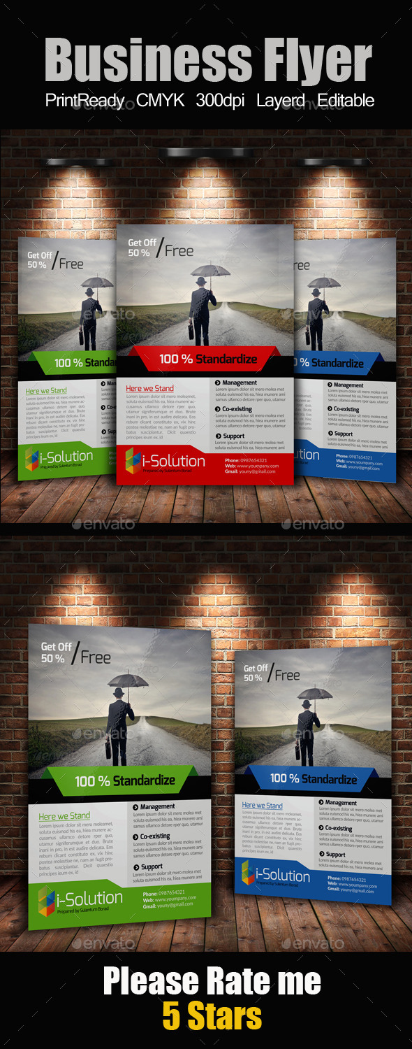 GraphicRiver A4 Multi Use Business Flyer 10271538