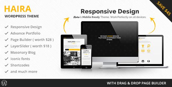 Haira - Business Responsive WordPress Theme