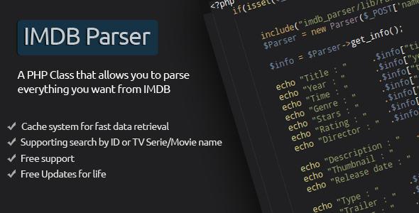 IMDB Parser